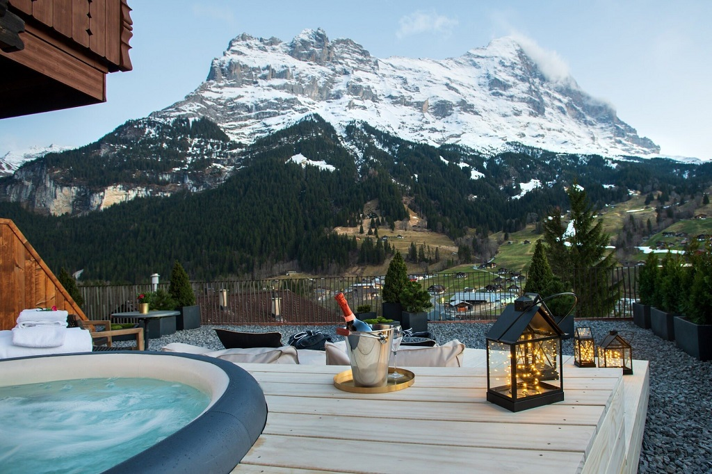 Hotel Glacier - Boutique hotell - Grindelwald - Sveits