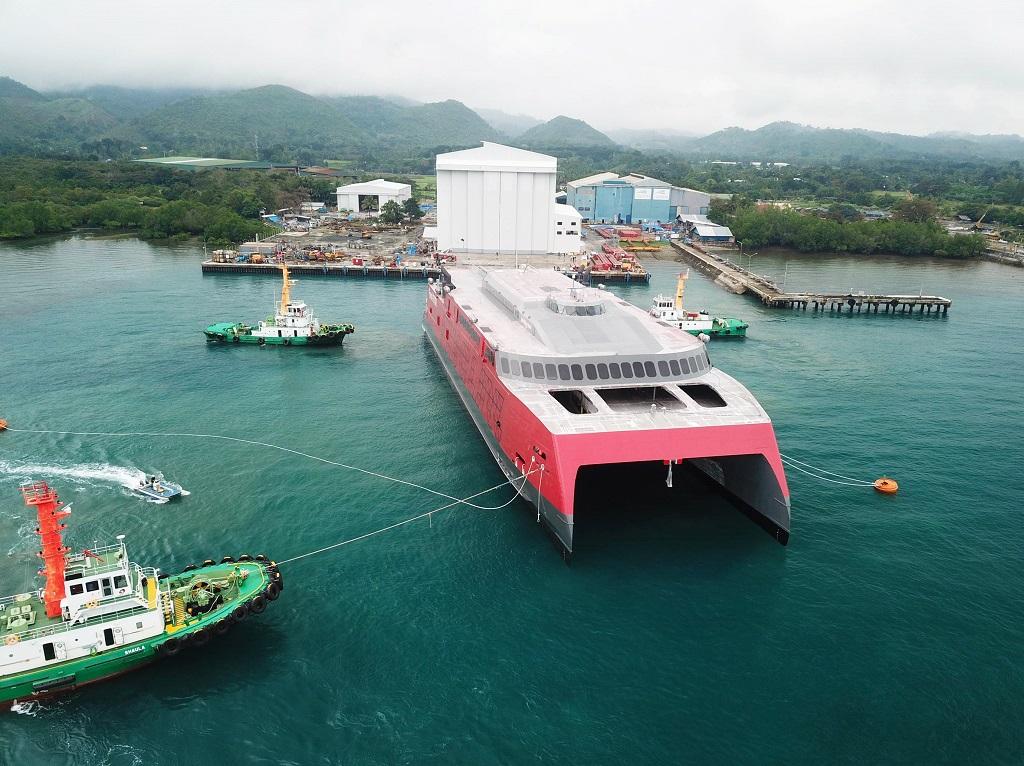 Fjord FSTR - Katamaranferje - Hurtigferje - Fjord Line - Sjøsetting 2020 - Austral - Filippinene