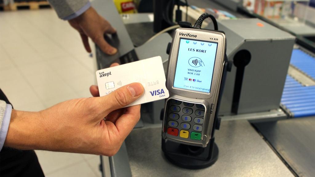 Trådløs betaling med kort - Rema 1000 - Dinero.no