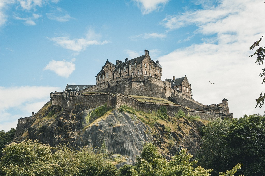 Edinburgh Castle - Edinburgh - Skottland