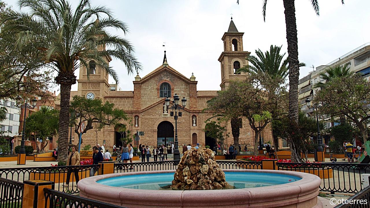 Kirkesøndag i Torrevieja - Costa Blanca - Spania