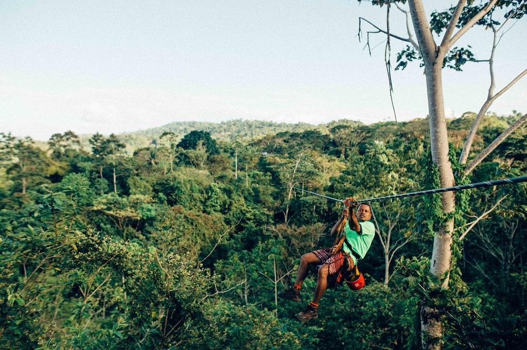 Costa Rica - Løypestreng - Jungel