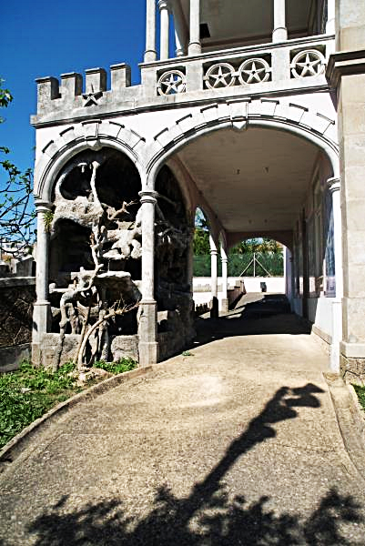 Portugal - Palacete do Conde Dias Garcia - Slott - Brasiliansk stil
