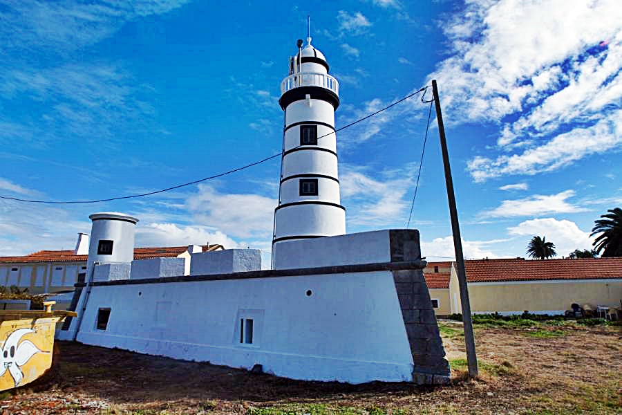 Portugal - Forte da Barra de Aveiro - Fyrtårn
