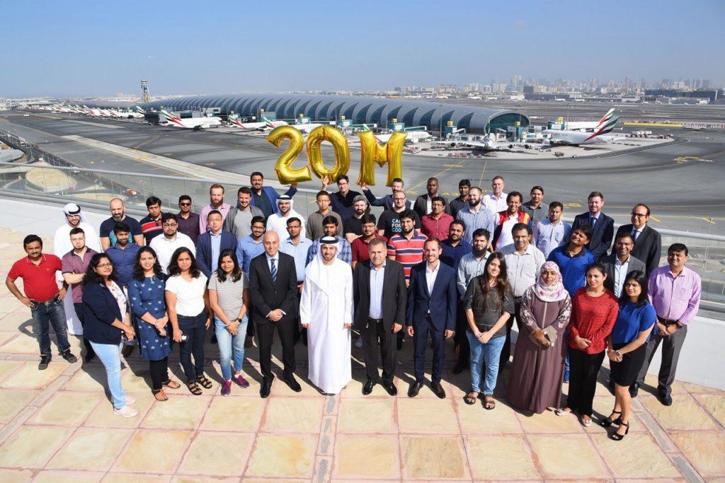 Emirates - App - 20 millioner nedlastninger - Dubai Airport