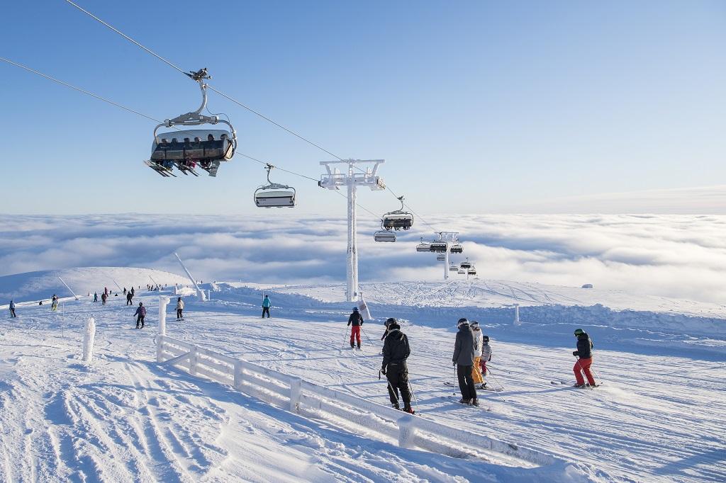 Trysil - skiheis - Vinter - snø - Skisport