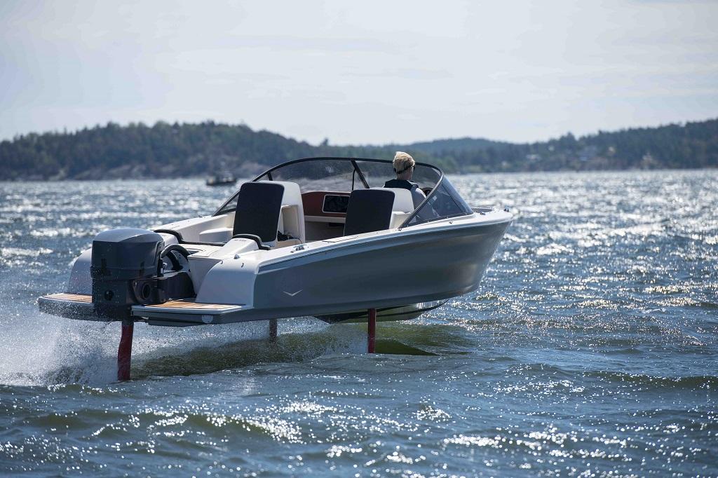 Candela Seven - elbåt - vingebåt - Sverige