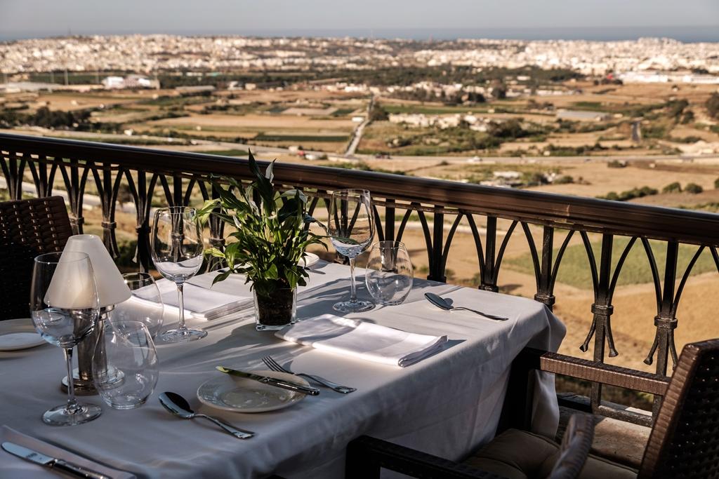 Utsikt - De Mondion - Restaurant - Michelinguiden - Malta 2020