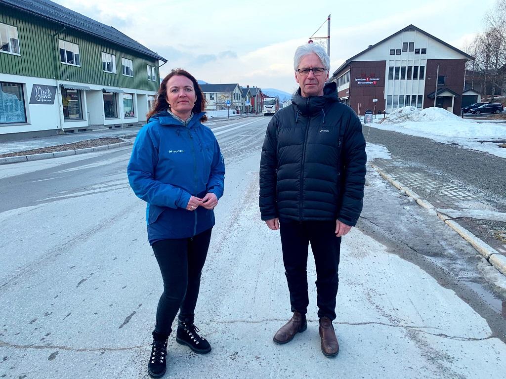 Gudrun Sanaker Lohne - Turistsjef - Erik Sletten - Ordfører - Trysil