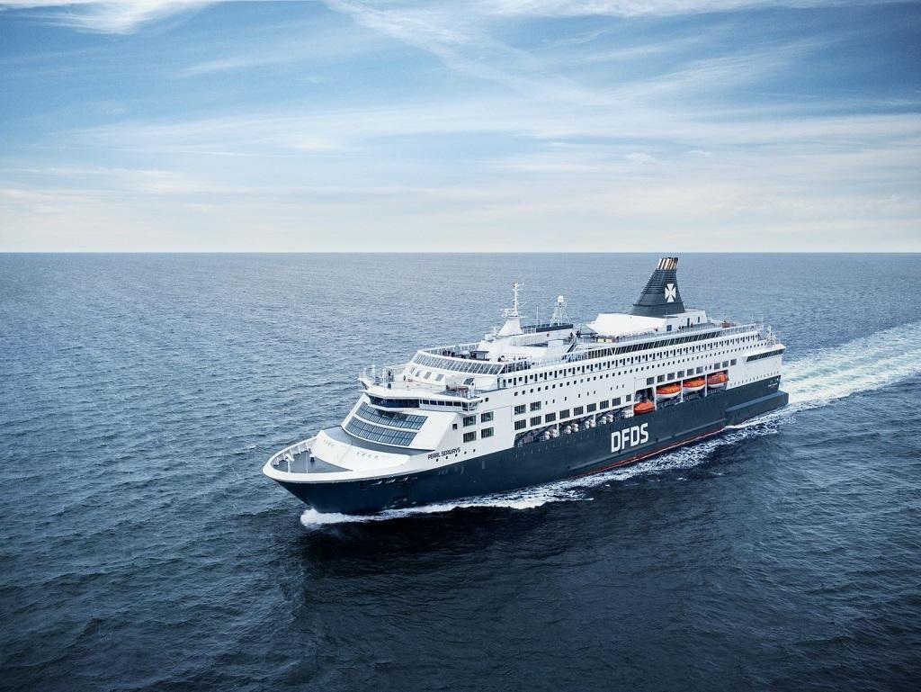 DFDS - Pearl Seways - Ferje - Oslo - København