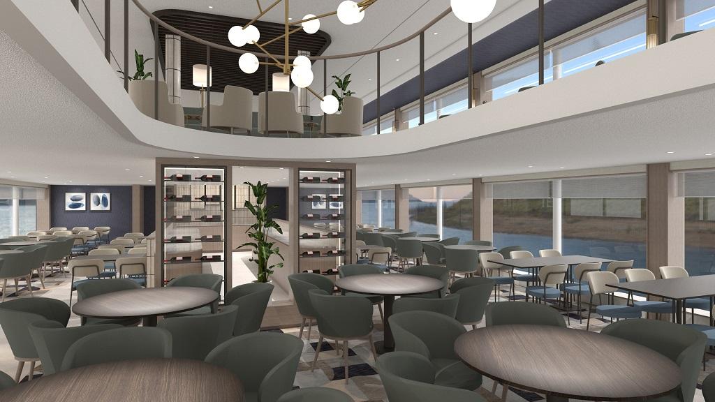 Restaurant - VIVA One -Viva Cruises - Elvecruise