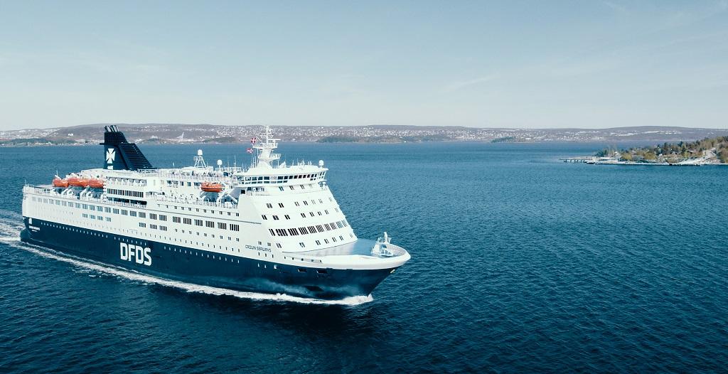 DFDS - Crown Seaways - Ferje - Oslo - København