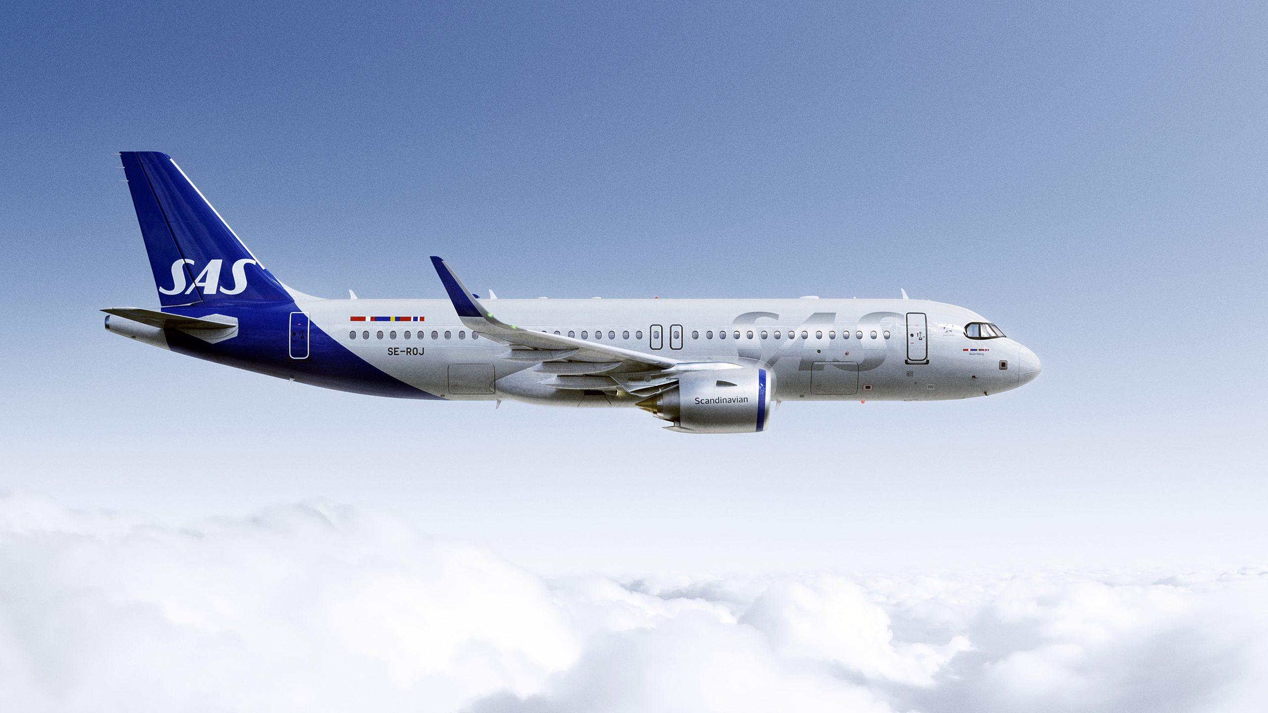 SAS - Airbus A 320neo - nytt livery 2020