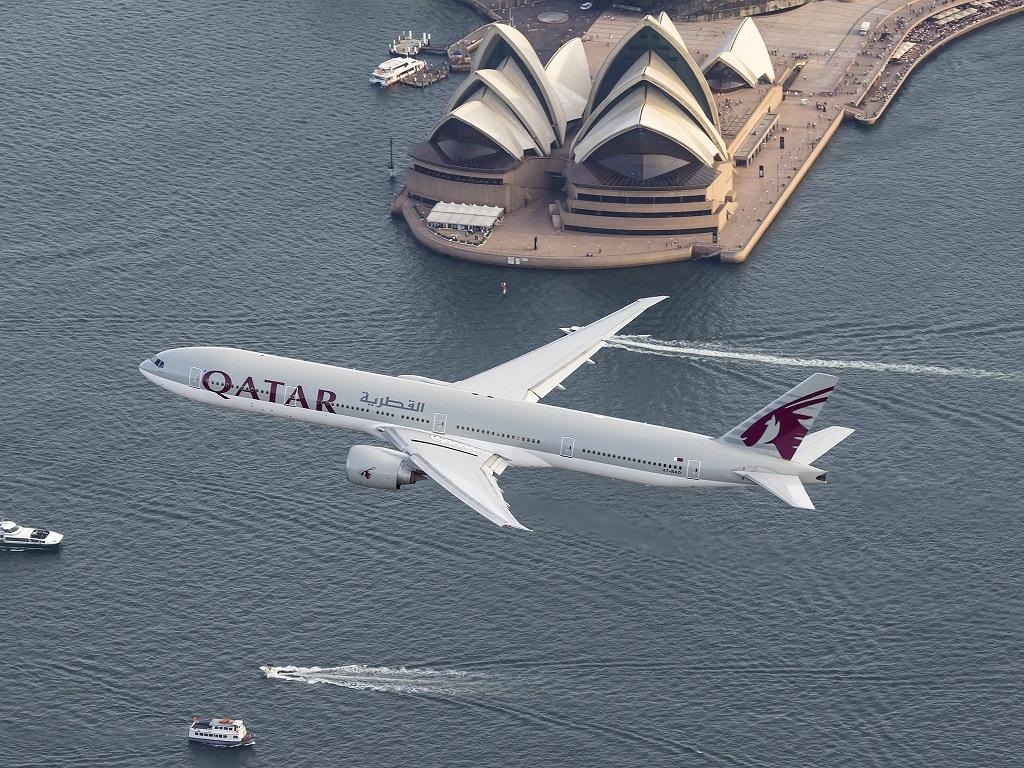 Qatar Airways - Boeing 777 - Sydney - Australia