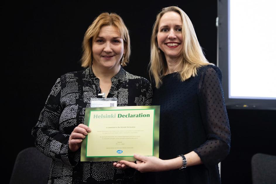 TUI - Helsinki-erklæringen 2.0 - Heli Mäki-Fränti - Anna Kiefer