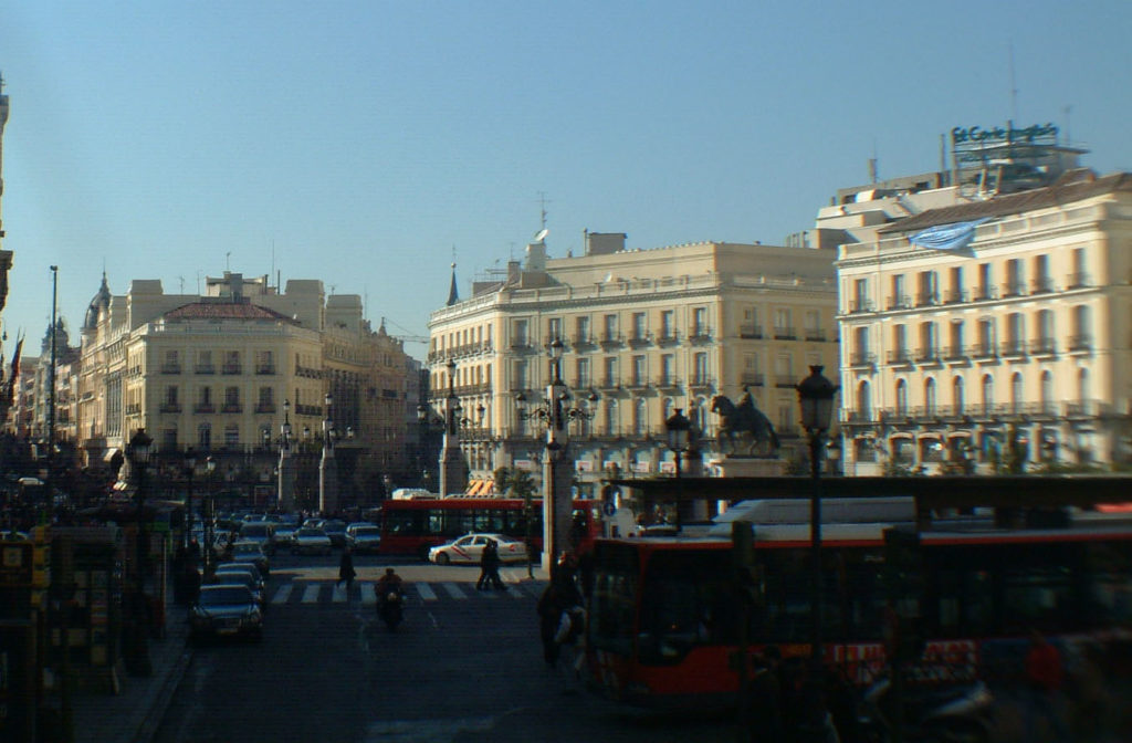 Madrid - Spania - Oversikt