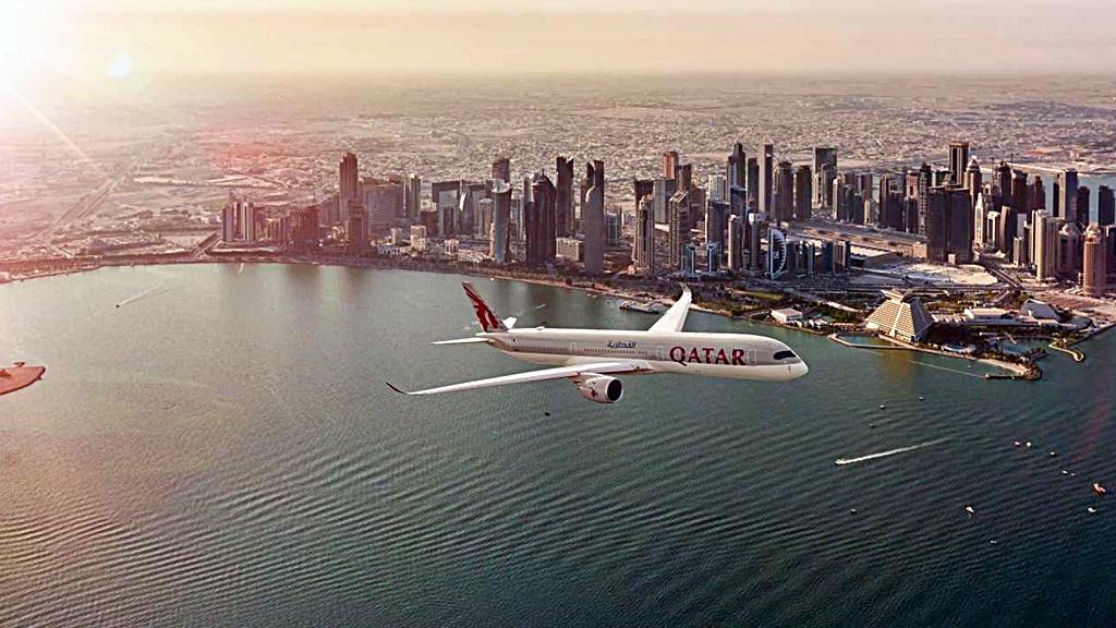 Qatar - Airways - Doha - Qatar -Airbus A 350 XWB