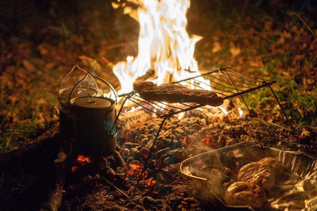 Grilling - friluftsliv - brannfare - Frende forsikring