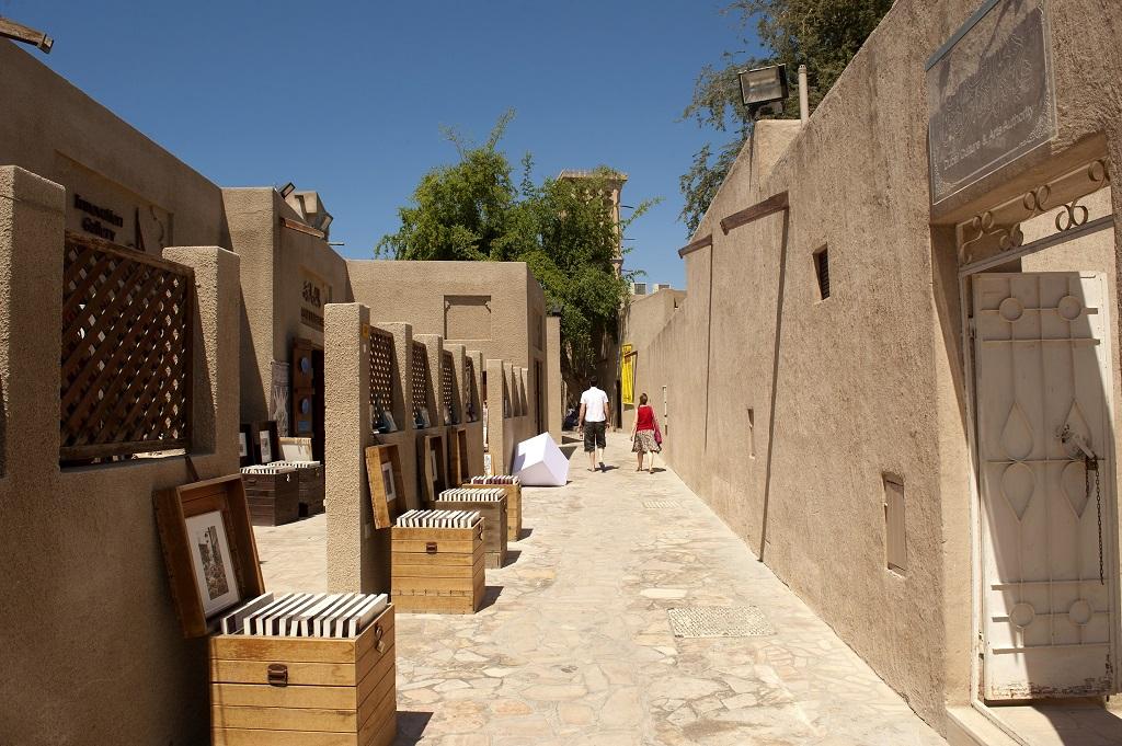 Al Fahidi - Historisk distrikt - Dubai - UAE