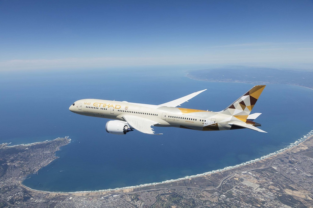Etihad Airways - Boeing 787-9 - Dreamliner