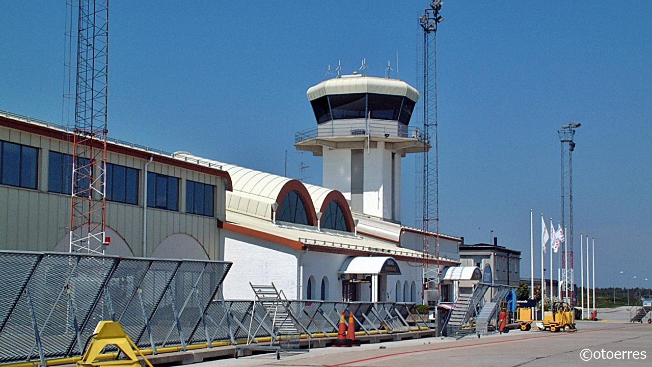 Visby flygplats - Gotland - Østersjøen - Sverige