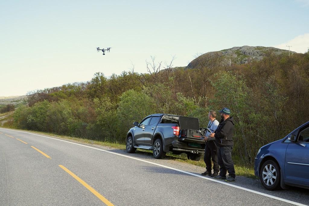FotoKnoff - Droneopptak i Varanger