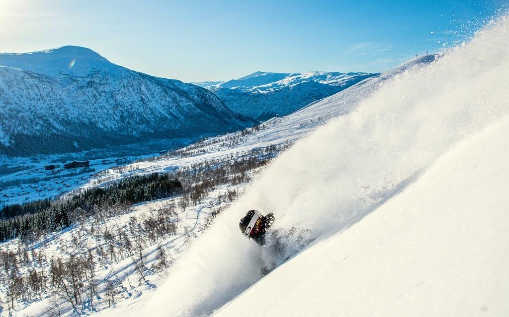 Ski - fristil - ekstremt morro - Myrkdalen
