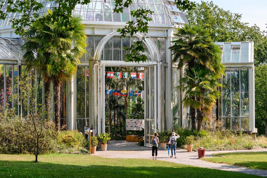 Botanisk hage - Conservatoire et Jardin botaniques - Genève - Sveits