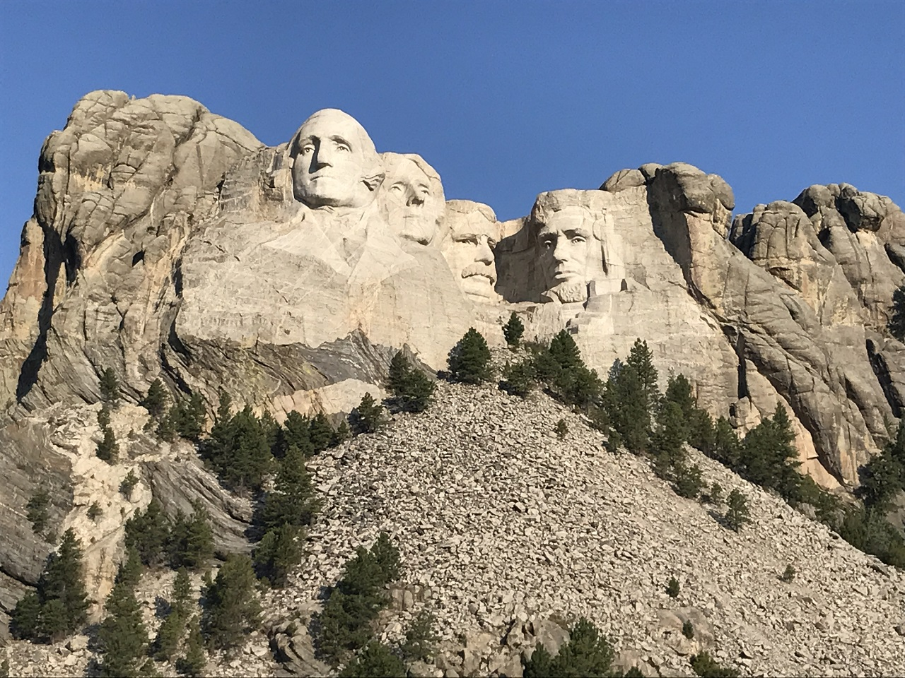 Mount Rushmore - Presidenter - Sør-Dakota - USA