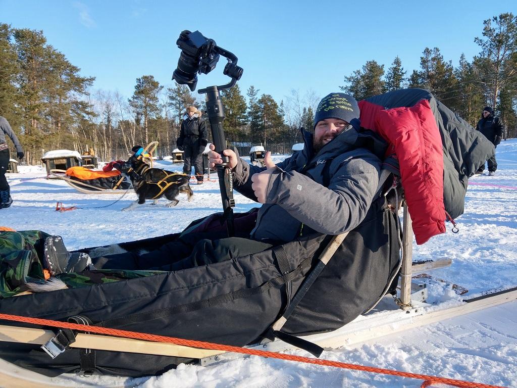 FotoKnoff - Filmopptak - Hundeslede - Varanger - Finnmark
