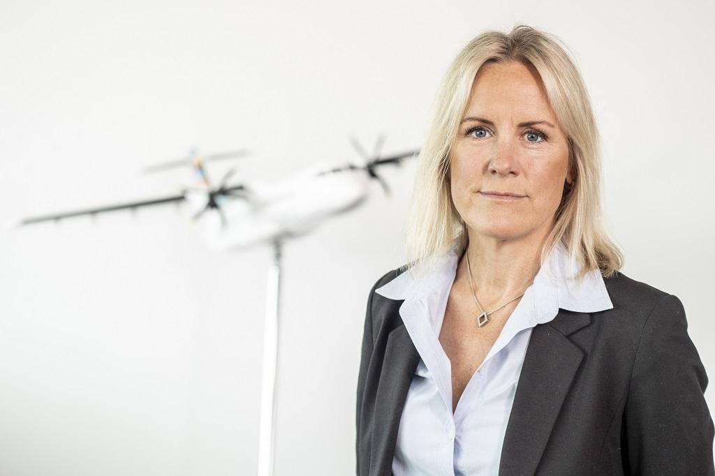 Ulrika Matsgård - KOmmersiell direktør - Flyselskapet BRA