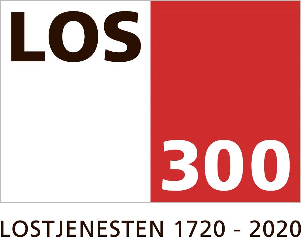 Logo - jubileum - Lostjenesten - Kystverket