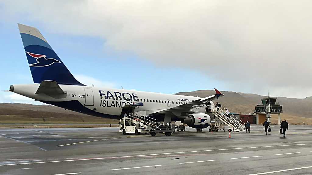 Atlantic Airways - Vagar Floghavn - NCC - Chartret fly - A 319 - Tunnelarbeidere