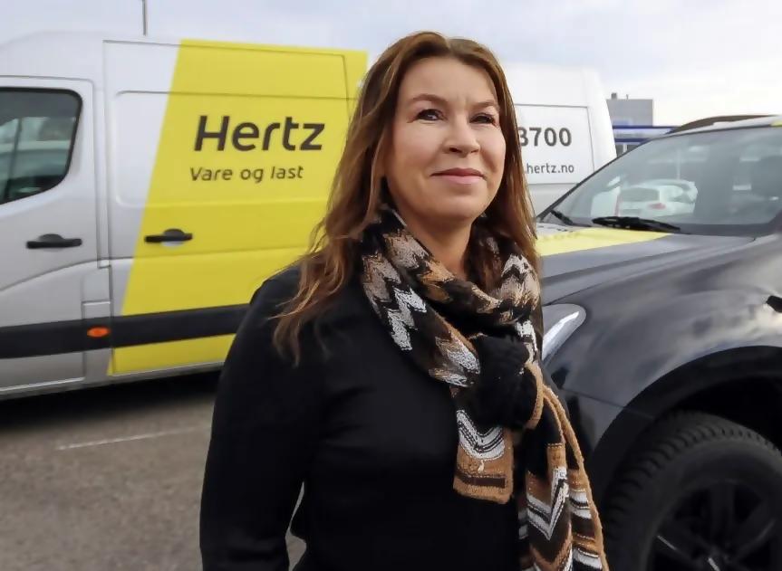 Anne-Lene Paulshus Vold - Easy Rent - Hertz bilutleie - Moss