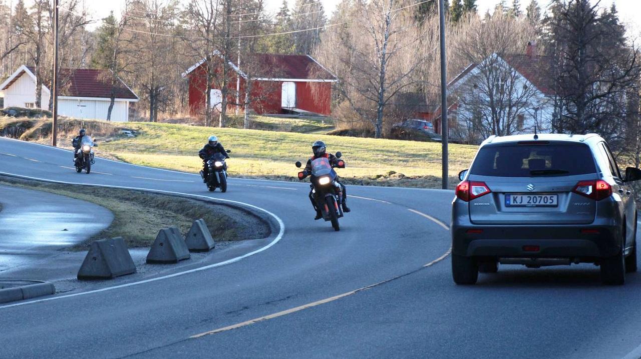 Motorsykler - MC - Kjøretøyer - Norske veier - NAF 2020