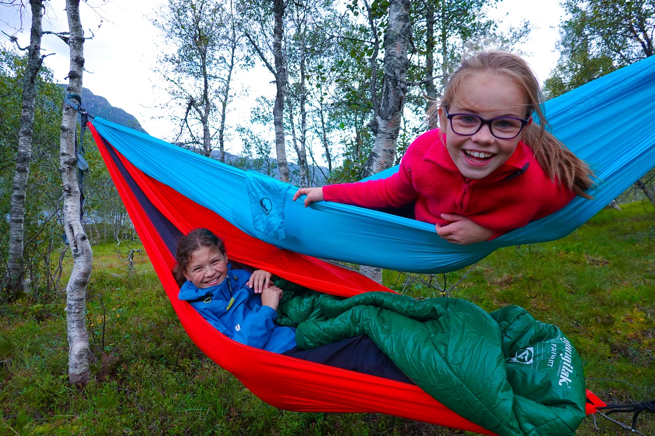 3.plass i fotokonkurransen for #nattinaturen i 2019 - Overnatting ute - Hengekøy - friluft - Slettedalen - Sauda -