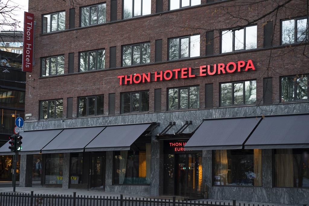 Fasade - Thon Hotel Europa - Oslo - 2020