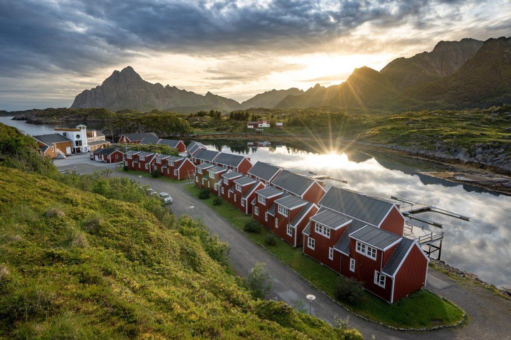 Nyvågar Rorbuhotell - Kabelvåg -Lofoten - Classic Norway Hotels
