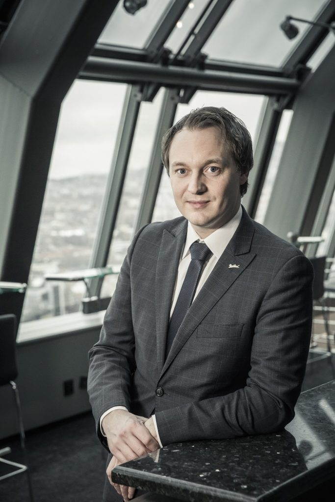 Frank Ove Wennevik - Hotelldirektør - Radisson Blu Royal Hotel - Bergen