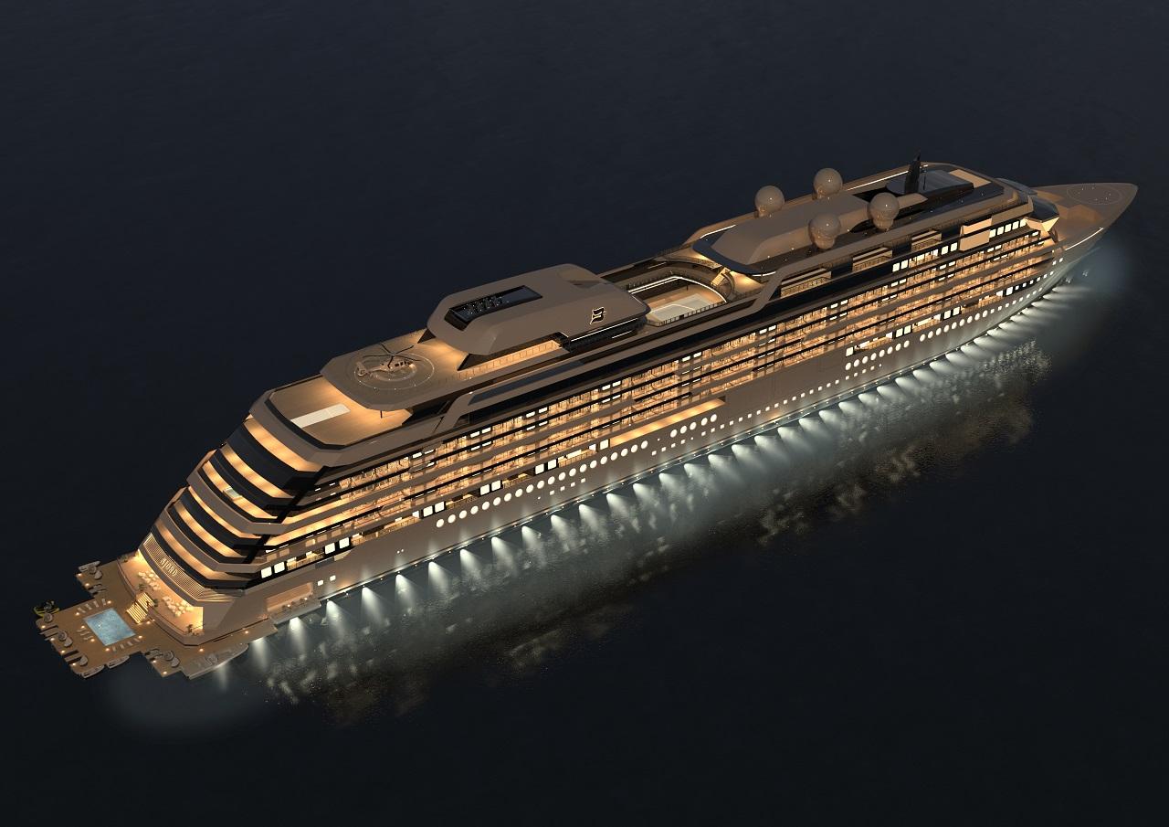 M/Y Njord - Ocean Residences Development Ltd - Flytende luksusleiligheter