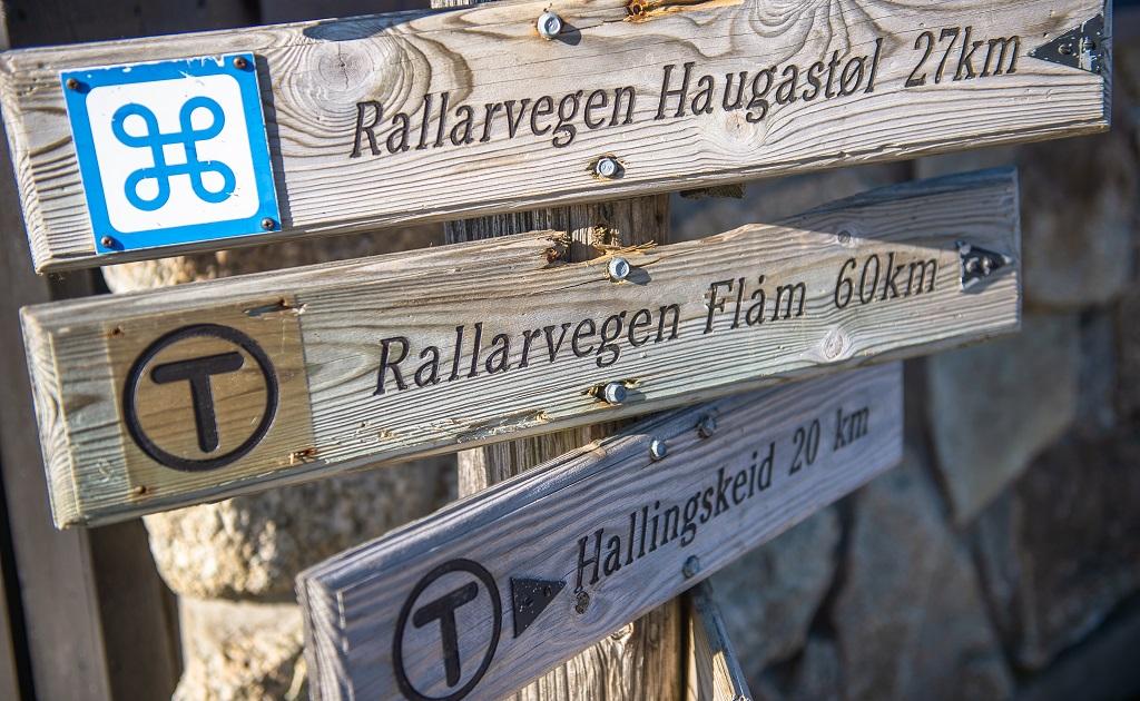 Rallarvegen - Bergensbanen - Finse - Vatnahalsen - Flåm