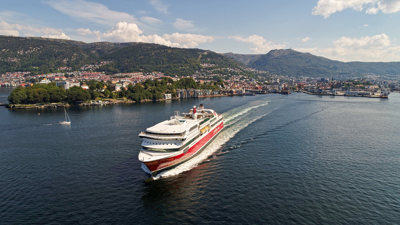 MS Stavangerfjord - Fjord Line - Bergen - Akvariet - Nøstet - Ulriken