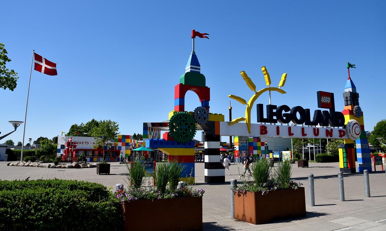 Legoland - Fornøyelsespark - Billund - Danmark