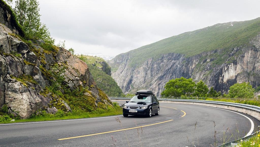Bilferie - Rv 7 - Hardangervidda - Norge - NAF