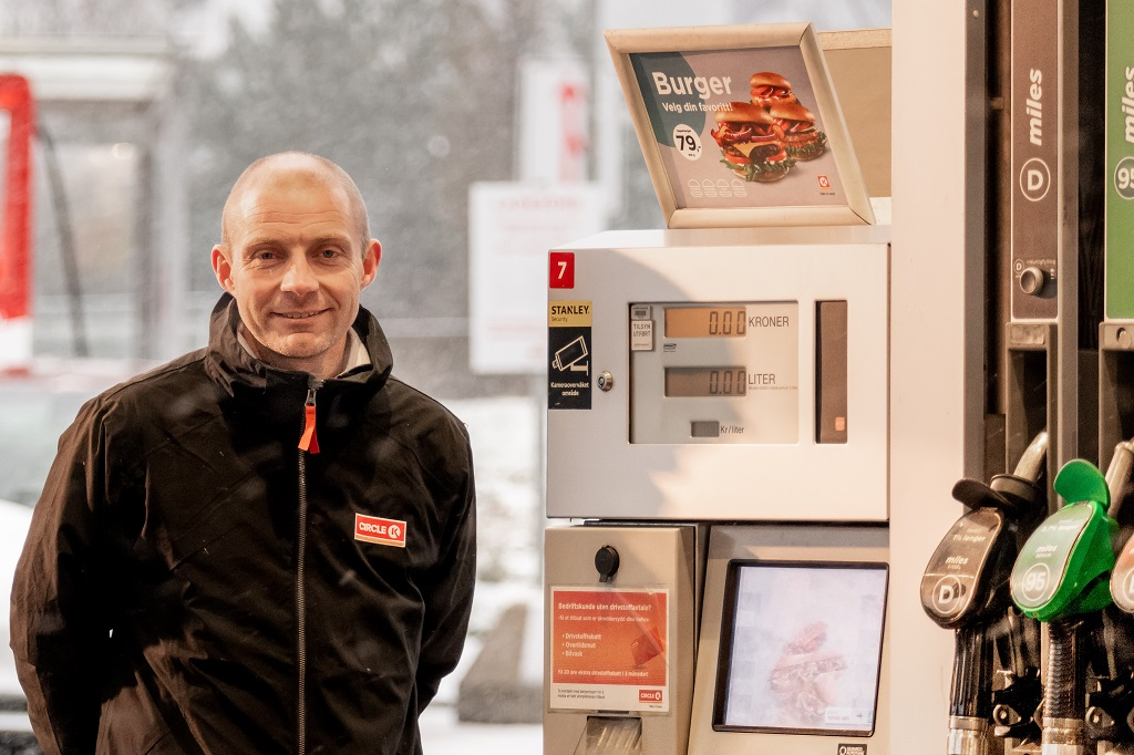 Anders Kleve Svela - kategorisjef for drivstoff - Circle K