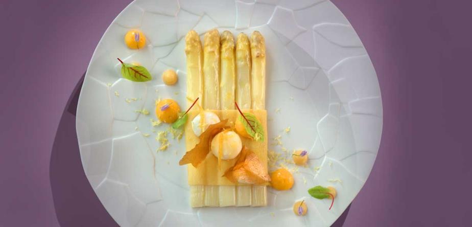 Hovedrett - Michelinmat - Restaurant Bayview - Geneve - Sveits