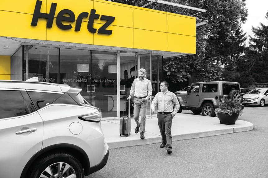 Hertz - bilutleie - USA - Pressebilde