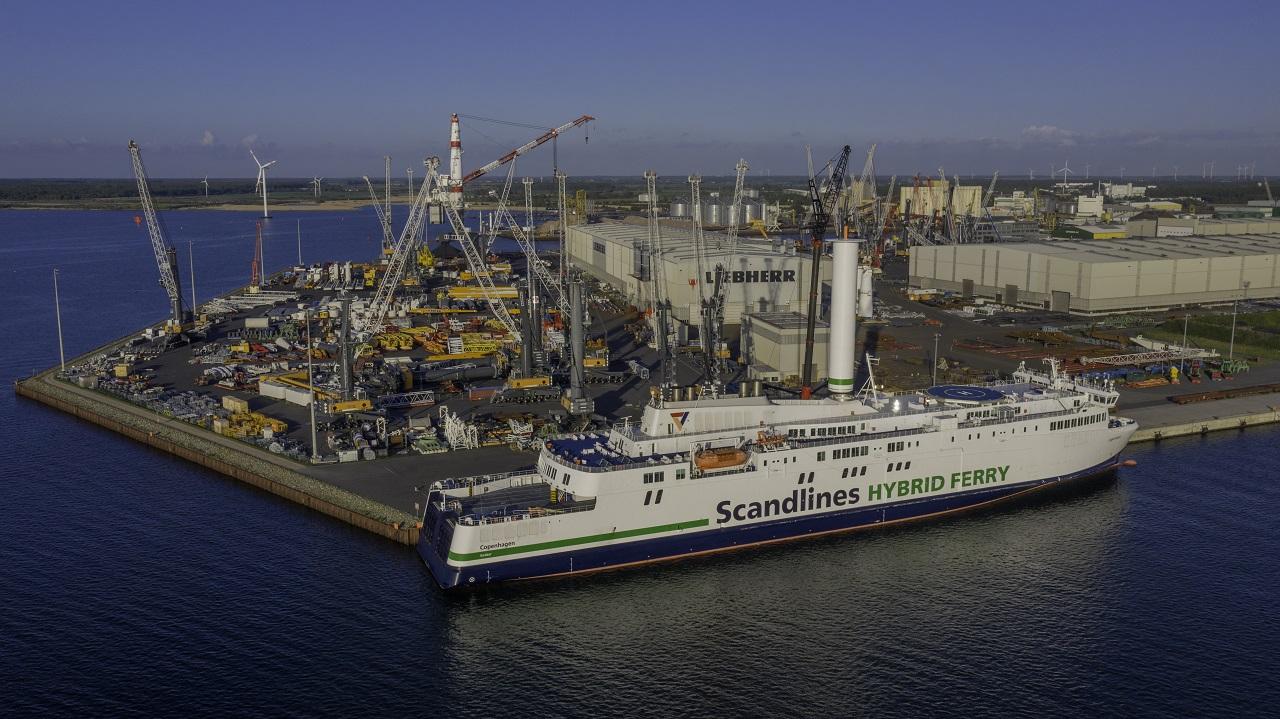 Scandlines - MF Copenhagen - Rotorseil - Norsepower Oy Ltd