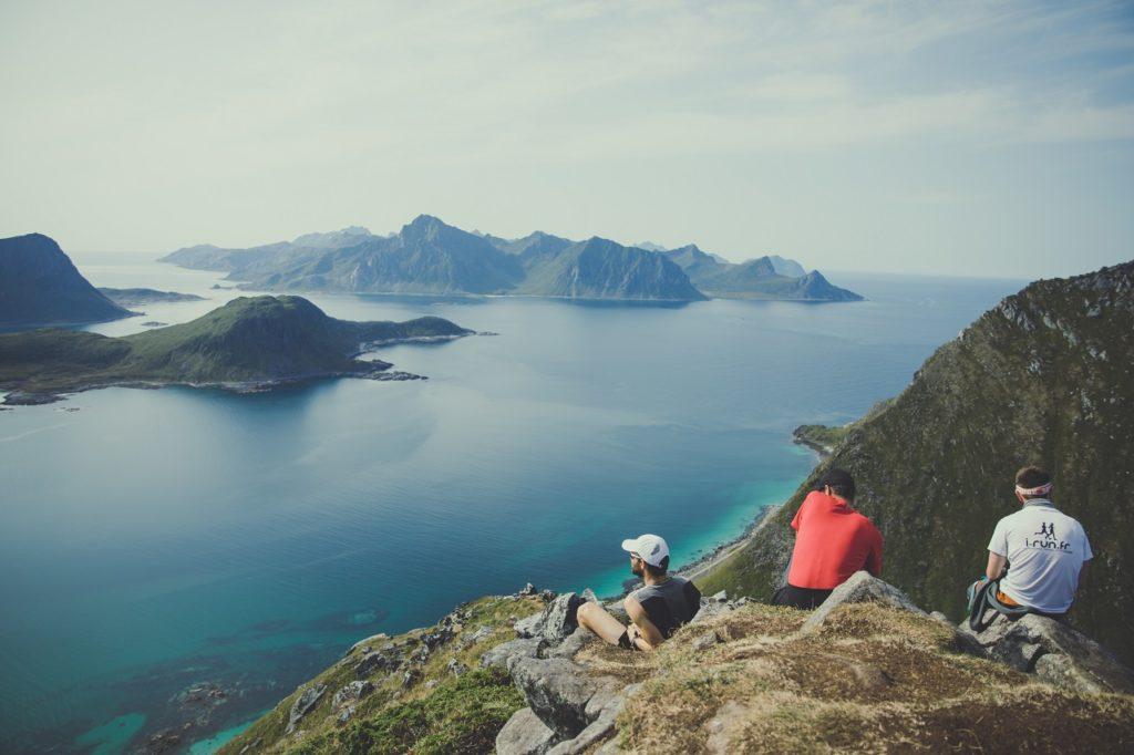 Lofoten - utsikt - øyer - Hav - Vestfjorden - Norsk Friluftsliv
