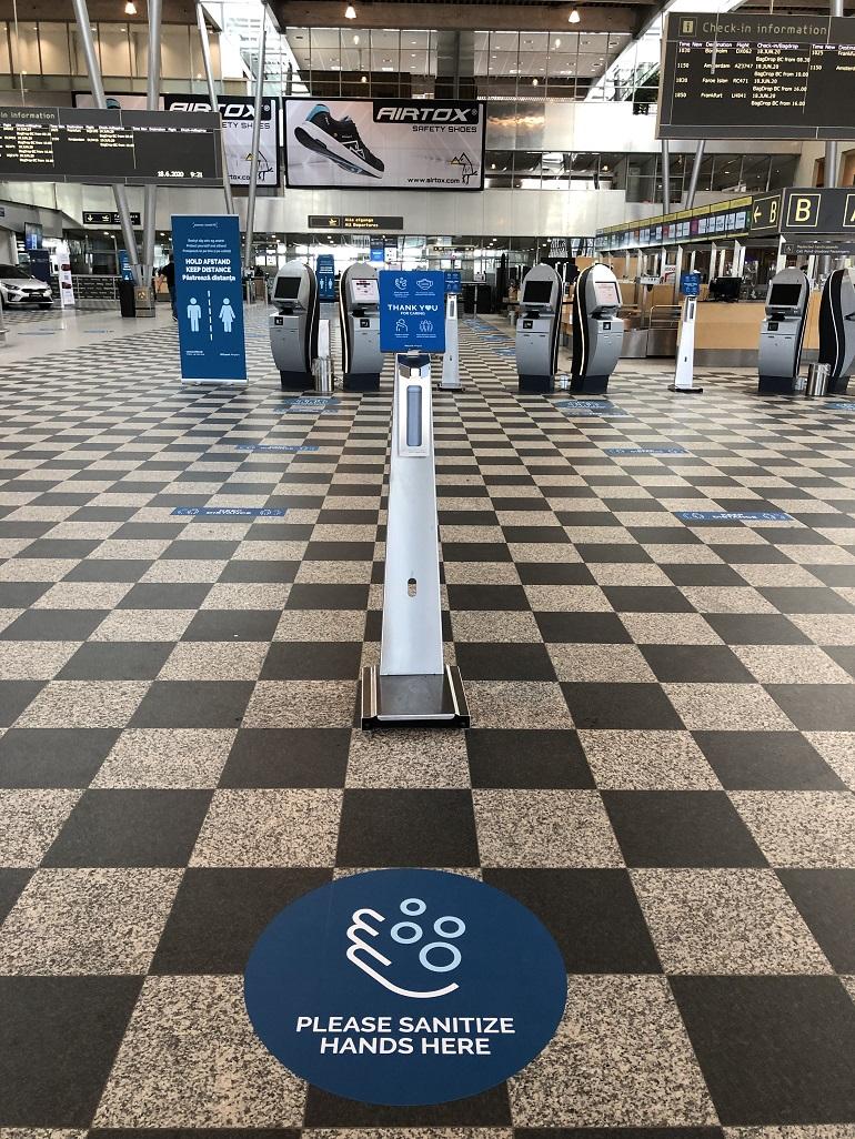 Covid-19 test - statsjon - Billund Lufthavn - Danmark